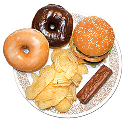 Junk food and poor oral health increase risk of premature heart disease