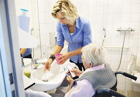 Long-term care patients refuse dental treatment