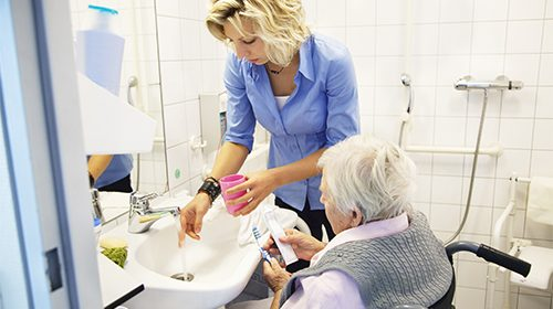 Long-term care patients refuse dental treatment