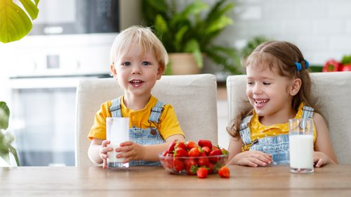 Children should stick to drinking 'milk and water'