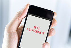 R U flossing? Text messages may improve oral health habits