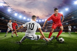 Nearly four out of 10 UK professional footballers have active tooth decay, while one in 20 has irreversible gum disease, according to a large study of players published in the British Journal of Sports Medicine.
