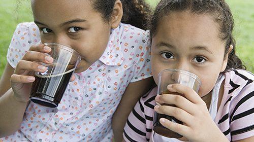 Kids drinking too many sports drinks